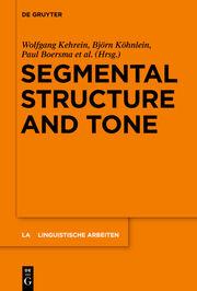 Segmental Structure and Tone