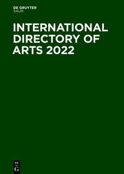 International Directory of Arts 2022