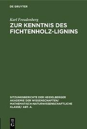 Zur Kenntnis des Fichtenholz-Lignins