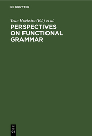 Perspectives on Functional Grammar