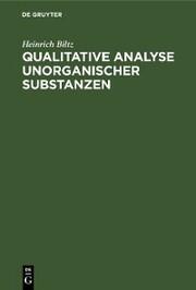 Qualitative Analyse unorganischer Substanzen