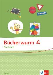 Bücherwurm Sachheft 4. Ausgabe für Sachsen