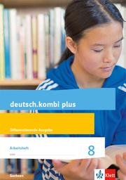 deutsch.kombi plus 8. Differenzierende Ausgabe Sachsen