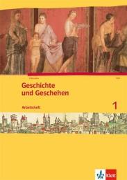 Geschichte und Geschehen 1. Ausgabe Berlin, Brandenburg, Hamburg, Nordrhein-Westfalen, Schleswig-Holstein, Sachsen-Anhalt Gymnasium