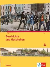 Geschichte und Geschehen 4. Ausgabe Sachsen Gymnasium