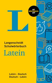 Langenscheidt Schulwörterbuch Latein - Cover