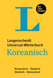 Langenscheidt Universal-Wörterbuch Koreanisch
