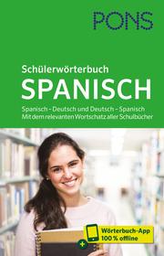 PONS Schülerwörterbuch Spanisch - Cover