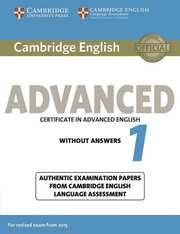 Cambridge English Advanced 1 for updated exam