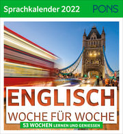 Englisch Woche für Woche - PONS Sprachkalender 2022