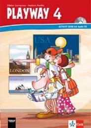 Playway 4. Ab Klasse 3. Ausgabe für Schleswig-Holstein, Hamburg, Niedersachsen, Bremen, Hessen, Berlin, Brandenburg, Mecklenburg-Vorpommern, Sachsen-Anhalt und Thüringen