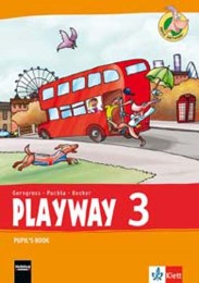 Playway 3. Ab Klasse 1. Ausgabe Hamburg, Nordrhein-Westfalen, Rheinland-Pfalz, Baden-Württemberg und Brandenburg