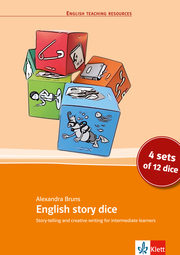 English story dice - Cover