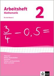 Brüche, Dezimalzahlen, Geometrie, Flächen- und Rauminhalte, Daten und Zufall. Ausgabe ab 2009