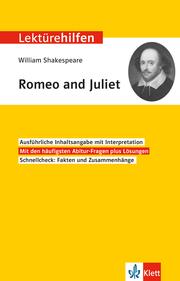 William Shakespeare 'Romeo and Juliet'