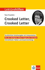 Lektürehilfen Tom Franklin 'Crooked Letter, Crooked Letter'