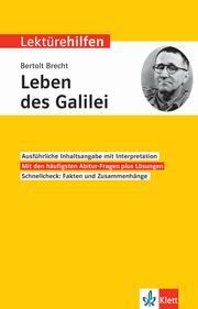 Klett Lektürehilfen Bertolt Brecht, Leben des Galilei