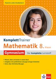 Klett KomplettTrainer Gymnasium Mathematik 8. Klasse