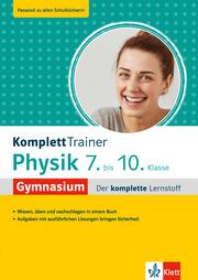 Klett KomplettTrainer Gymnasium Physik 7.-10. Klasse