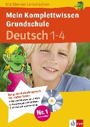 Mein Komplettwissen Grundschule: Deutsch 1-4