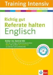 Training Intensiv Englisch - Richtig gut Referate halten - Cover