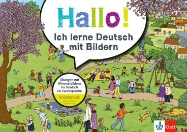 Klett Hallo! Ich lerne Deutsch mit Bildern