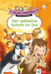 Zoo der Zaubertiere: Der geheime Schatz im Zoo, 1./2. Klasse