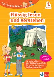 Klett Die Deutsch-Helden Flüssig lesen und verstehen 1. Klasse - Cover