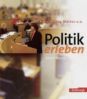 Politik erleben - Sozialkundebuch für die Sekundarstufe I - Stammausgabe - Bisherige Ausgabe