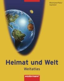 Heimat und Welt, Weltatlas, RP Sl, neu