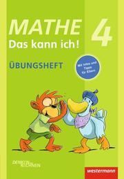 Mathe - Das kann ich! - Üben und Nachschlagen - Cover