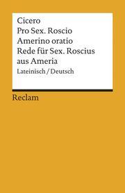 Rede für Sextus Rosicus aus Ameria