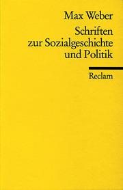 Schriften zur Sozialgeschichte und Politik
