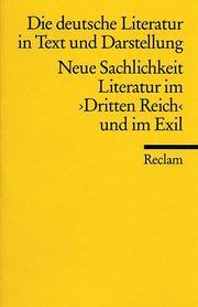 Die deutsche Literatur in Text und Darstellung 15