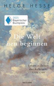 Die Welt neu beginnen - Cover