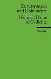 Heinrich Heine: 10 Gedichte
