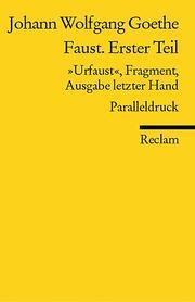Faust. Erster Teil