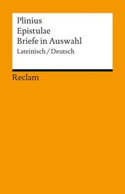 Epistulae/Briefe in Auswahl - Cover