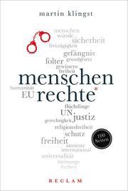 Menschenrechte. 100 Seiten - Cover