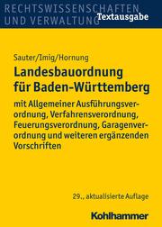 Landesbauordnung für Baden-Württemberg - Cover