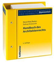 Handbuch des Architektenrechts
