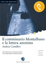 Interaktives Hörbuch Italienisch / Il commissario de Montalbano e la lettera anonima