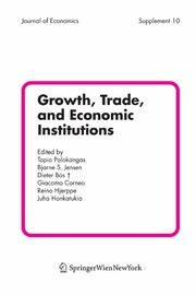 Growth, Trade, and Economic Institutions