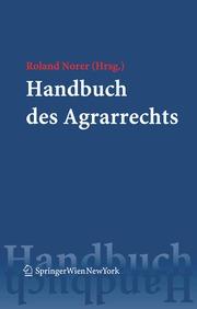 Handbuch des Agrarrechts