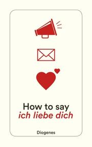 How to say ich liebe dich