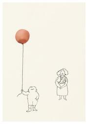 Ohne Titel / Luftballon (Postkarte, 20 Ex)