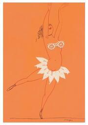 Ohne Titel / Tänzerin (Postkarte, 20 Ex)