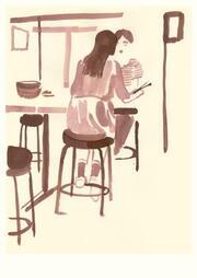 Postkarten - Lunch