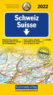 Schweiz ACS 2022 1:275 000