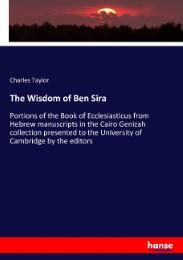 The Wisdom of Ben Sira